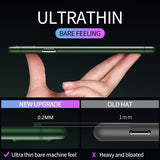 0.2mm Ultra Thin Transparent Matte Case For iPhone 12 & 11 Series
