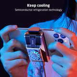 Cooler Semiconductor Cooling Fan for iPhone Samsung Xiaomi Mobile Phone