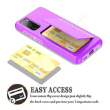 Flip Card Slot Stand Phone Case for Samsung Galaxy S21 Series