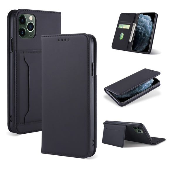 Leather Card Slots Flip Wallet Case Cover For iPhone 12 Series