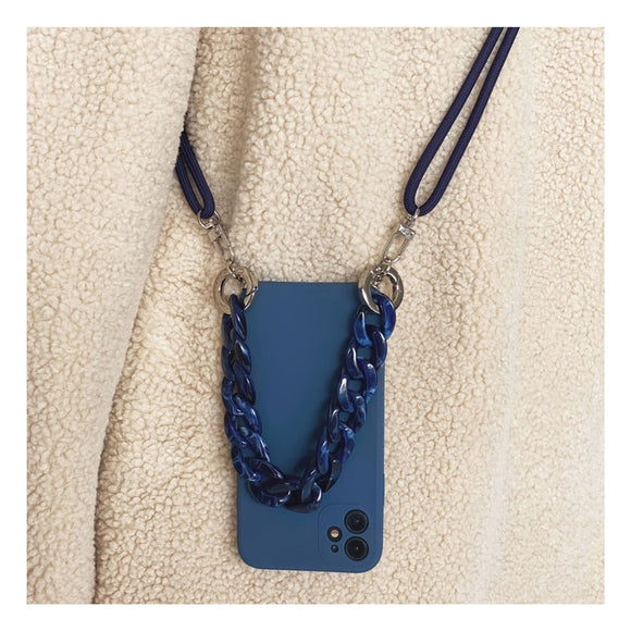 Korea Crossbody Necklace Lanyard Chain Case for iphone 12 11 Series