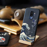 3D Embossed Matte Soft Case for Samsung Galaxy S21 Ultra 5G