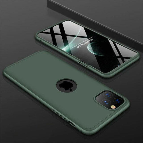 Luxury 360 Degree Shockproof Matte Case For iphone 11 Series