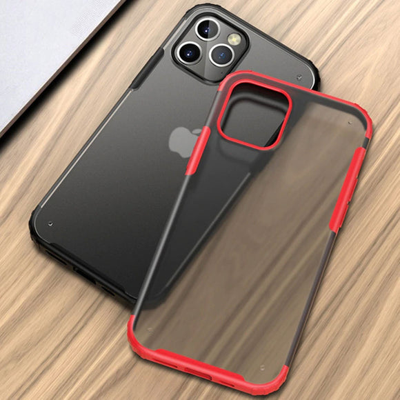Silicone PC Hybrid Shockproof Armor Case for iPhone 11 Pro Max | 11 Pro | 11 | X Series