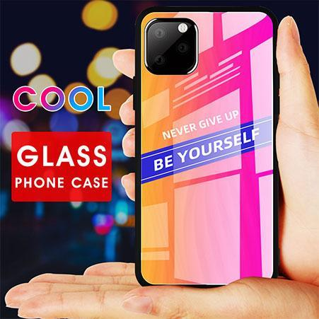 Tempered Glass Case Glass Back Cover For iPhone 11 Pro Max X XS XR XS MAX