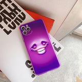 Cute Cartoon Funny Expression Soft TPU Silicone Case For iPhone 11 Series