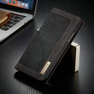 Luxury Jean Leather Flip Cover With Card Pocket For iPhone 11 Pro Max