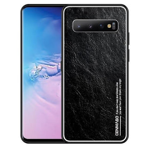 Luxury Genuine Leather High Quality Protection Back Cover for Samsung Galaxy S10 Note 10 Plus