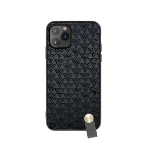 Half-wrapped Protective Case With Wristband for iPhone 11 Series