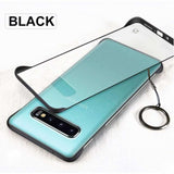 Luxury Ultra Thin Bumper Slicone Matte Case Shockproof Cover For Samsung Galaxy A50 A70  S10e S9 Plus Note 9