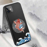 Soft Silicon Matte Cute 3D Relief Pattern Cover for iPhone 11 Pro Max