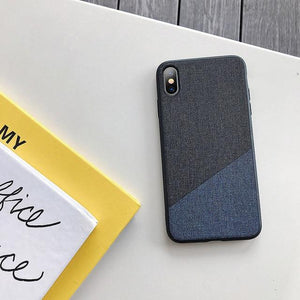 Fabric Leather Case For Samsung Galaxy S10 S10 Plus S10e