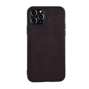 Luxury Artificial Leather Back Cover Case For iPhone 11 Series