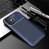 Luxury Silicone Shockproof Protective Back Cover Bumper Case For iPhone 12 Series