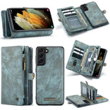 Leather Wallet Card Case for Samsung Galaxy S21 S20 Note 20 Series