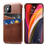 Luxury PU Leather Card Holder Case For iPhone 12 Series