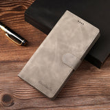 Leather Flip Wallet Case For SamsungS21 S20 Note 20 Series