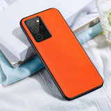 Luxury Leather Full Protection Shockproof Soft Edge Back Cover Case for Samsung Galaxy Note 20 & S20 Series