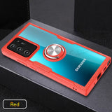Heavy Duty Protective Rugged Case with Magnetic Car Holder Ring for Samsung Galaxy S20 | Note 20 | S10 | Note 10 Series