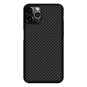 Real Pure Carbon Fiber Phone Back Cover Ultra Thin Anti Fall Case for iPhone 12 Series
