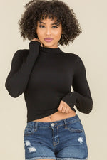 Load image into Gallery viewer, Laurel High Neck Crop Top
