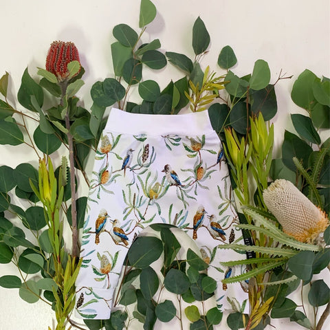 Kookaburra harem leggings