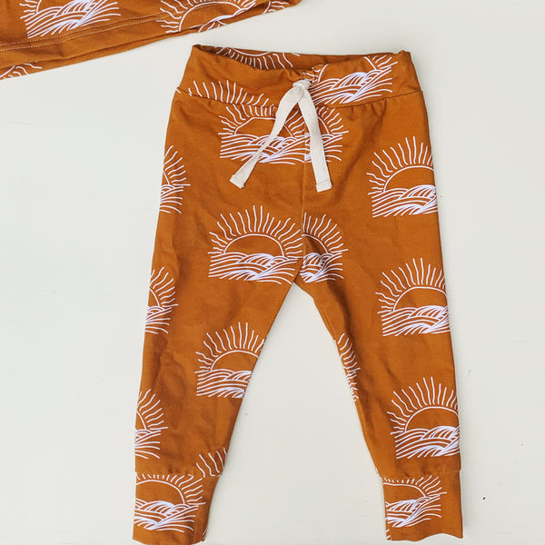 SUNSET straight leggings bigger sizes