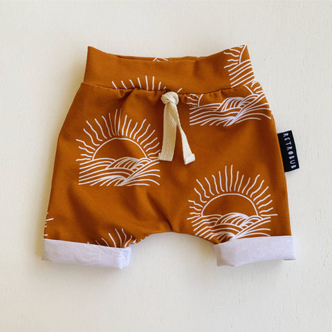SUNSET baby shorts