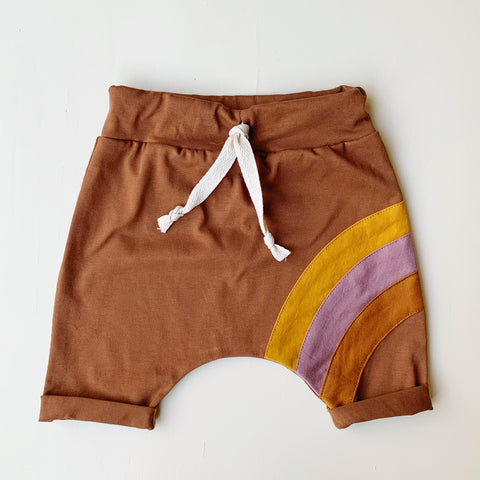 Caramel rainbow shorts
