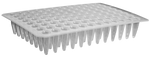 AHN 96-Well PCR Microplate Without Skirt 0.2ml Natural - Neo Science Equipments & Chemicals Trading LLC