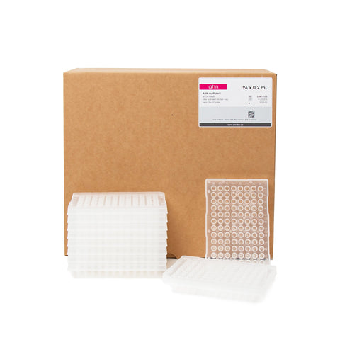 AHN 96-Well qPCR Microplate with Reinforced Half-Skirt 0.2ml Transparent - Neo Science Equipments & Chemicals Trading LLC