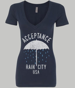 Acceptance Rain City Girls V-Neck