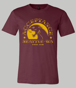 Acceptance Panther Shirt (Maroon)