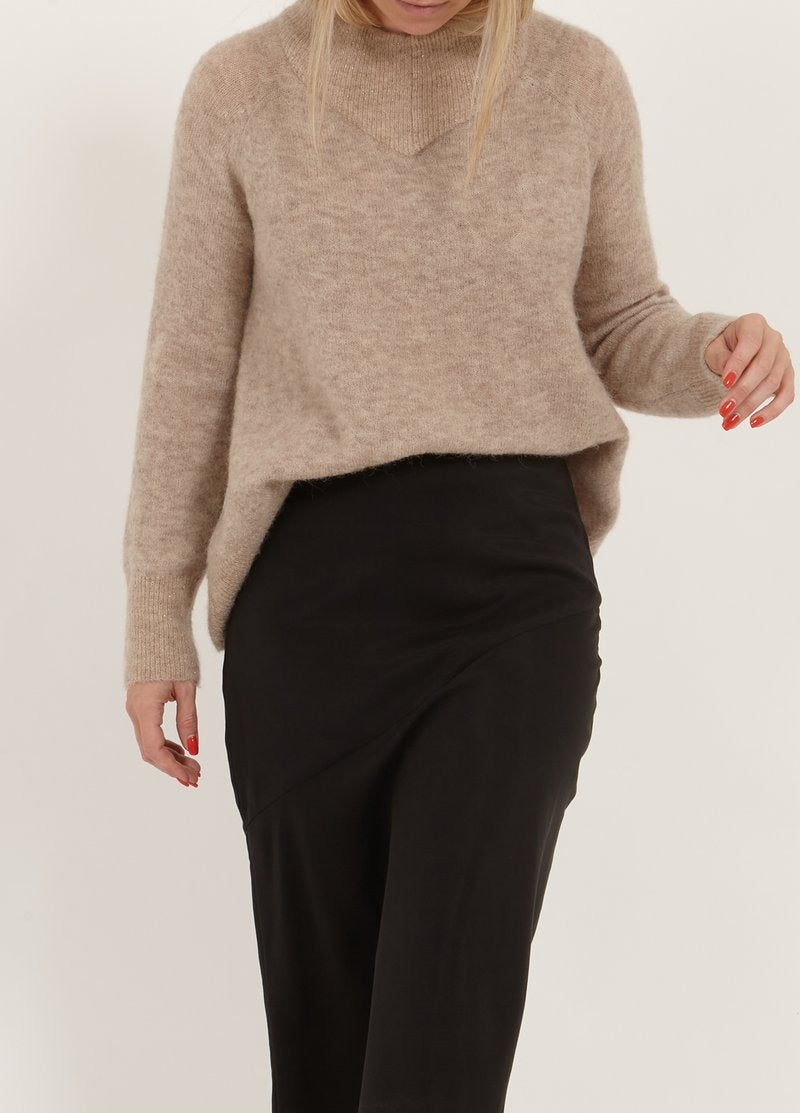 Women's High Neck Sweater