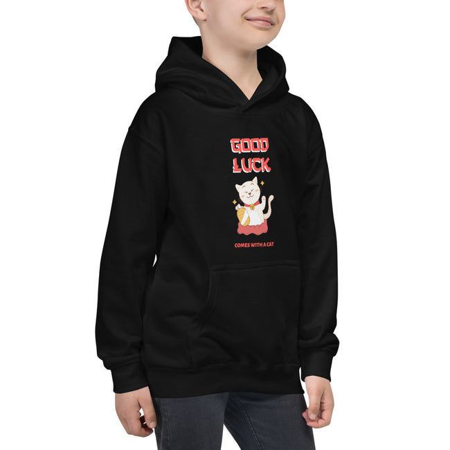 Kids Hoodie - Kitty Cat Apparel