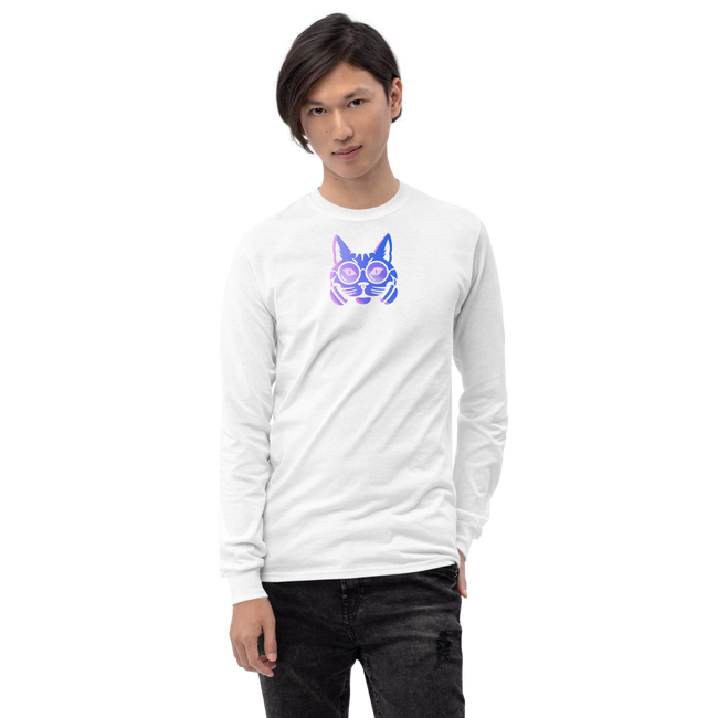 Men's Long Sleeve Shirt - Kitty Cat Apparel