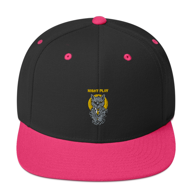 Snapback Hat - Kitty Cat Apparel
