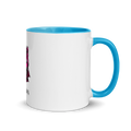 Mug with Color Inside - Kitty Cat Apparel
