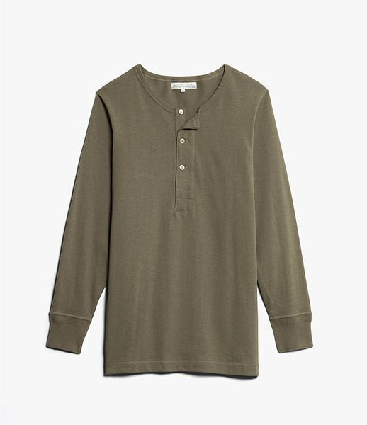 Merz b Long Sleeve Henley Tee