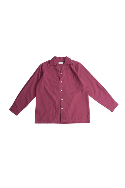 By R AW19 L/S Camp Collar Shirt