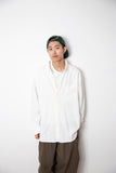 By R AW20 L/S Oversize Shirt