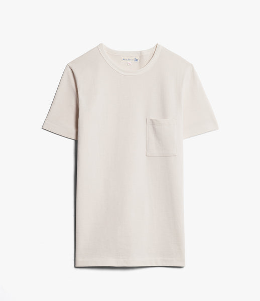 Merz b 1/4 Sleeve Crew Neck Pocket Tee