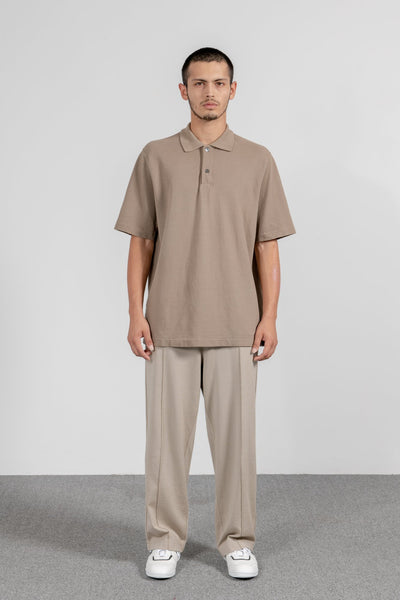 LW S/S Two Button Polo