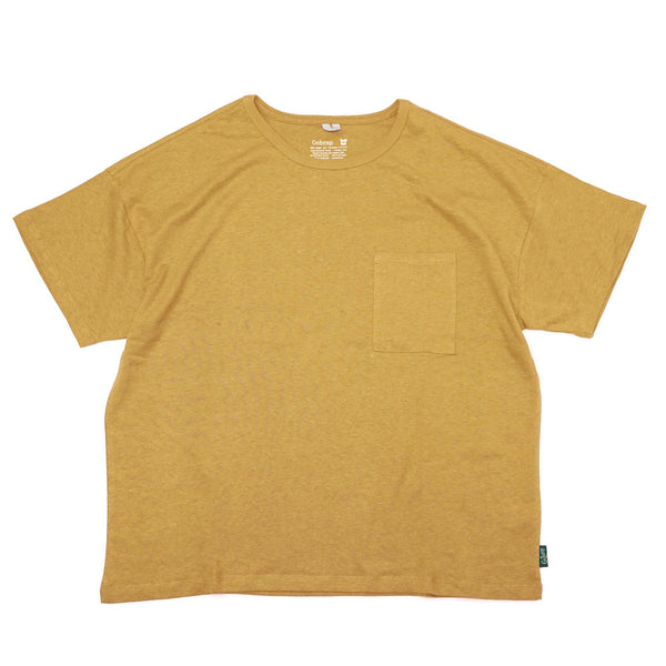 Go Hemp Wide Pocket Tee