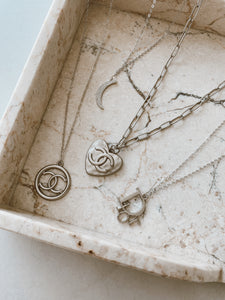 Clara Necklace Silver