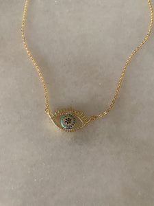 Karma Evil Eye Necklace