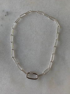 Lissa Silver Chain Link