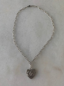 Chloe Necklace Silver