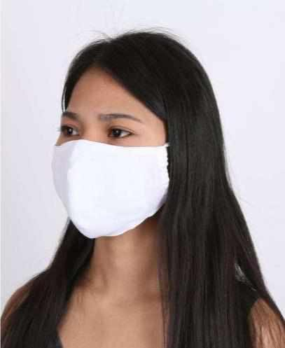 10 Pack White Face Masks with Filter Pocket Washable & Reusable-Face Mask-Lannaclothesdesign Shop