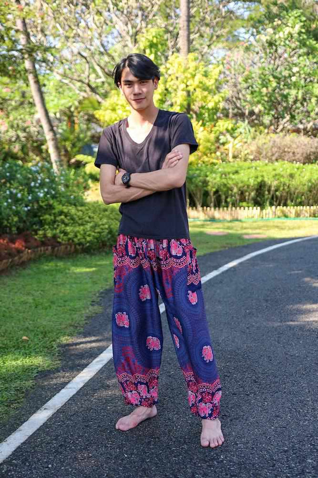 MENS BAGGY ELEPHANT PANTS-Men Pants-Lannaclothesdesign Shop-Lannaclothesdesign Shop
